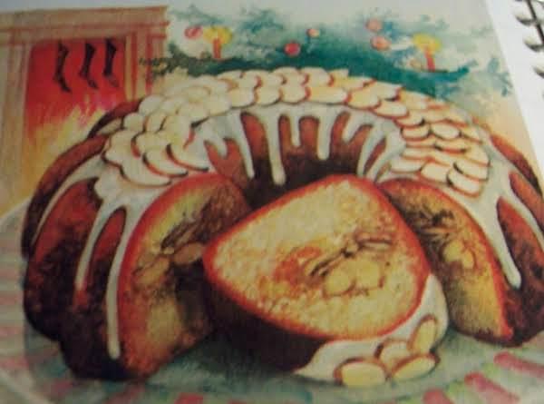 Christmas Almond Sherry Cake