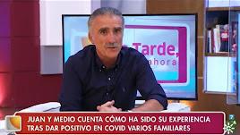 Juan y Medio contó en Canal Sur cómo el coronavirus ha afectado a su familia este verano.