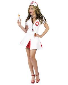 Sjuksköterska med shots