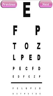 Smart Eyesight tester - náhled