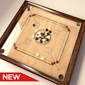 Classic Real Carrom Board Game icon
