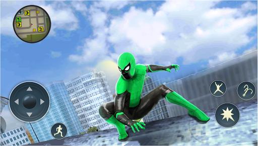 Spider Rope Hero - Gangster Crime City  screenshots 5