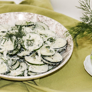 Cucumber and Dill Salad Recipe