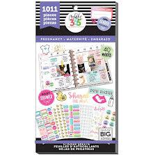 Me & My Big Ideas Happy Planner Sticker Value Pack - Pregnancy