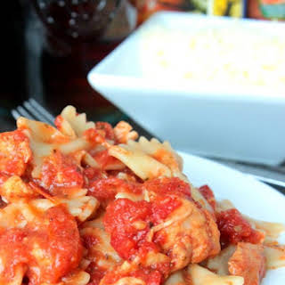 Toni's Slow Cooker Stupid Easy Chicken.