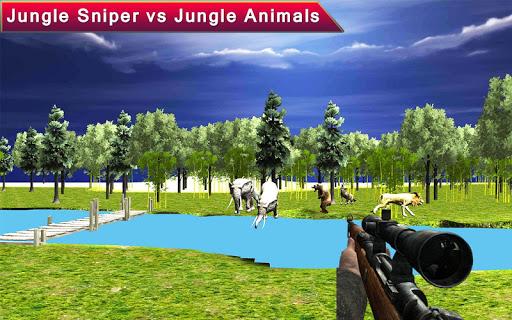 野生動物の狩りスナイパー