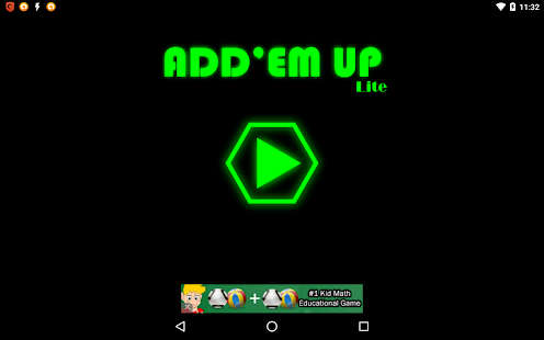Add'em Up Lite- screenshot thumbnail