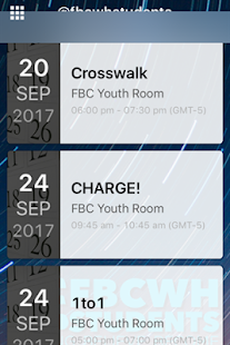 FBCWH Student Ministry - náhled