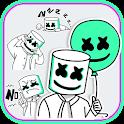 Cool Dj Life Emoji Stickers icon