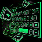 Free Apple Green Watch Keyboard Theme APK for Windows 8