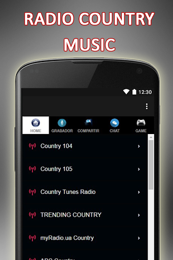 Radio Country Music
