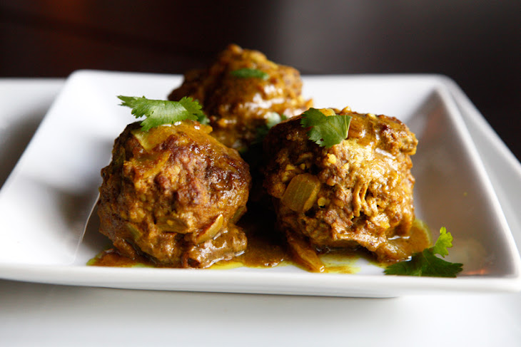 Paleo Curry Meatballs Recipe