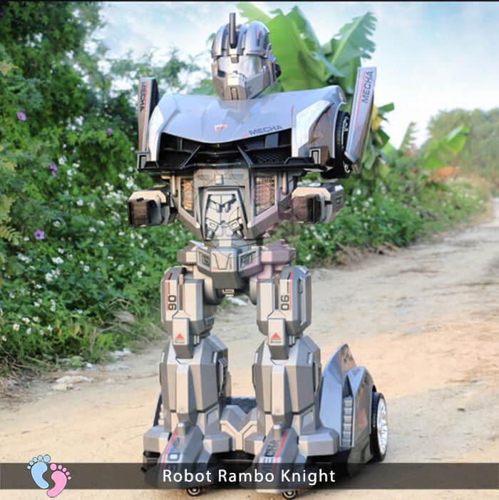 Siêu phẩm Robot Rambo Knight Cho bé 11