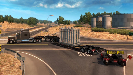 Euro Truck Boat Cargo Driving Simulator 2020 1.0.8 screenshots 4