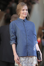 Photo: Kate Bosworth looks great in this J.W. Anderson shirt.  Shop the shirt > http://bit.ly/ZhJmht