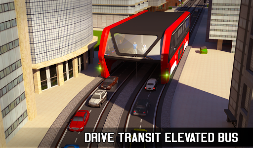 Elevated Bus Simulator: Futuristic City Bus Games 2.2 screenshots 20