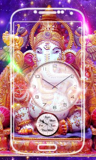Ganesh Clock Live Wallpaper screenshot 5