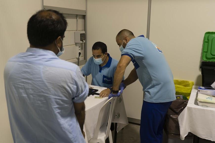 El número de inmunizados por completo era ayer de 263.998.