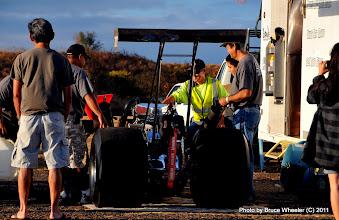 Photo: The Takushi Motorsports pits were jumpin'!
