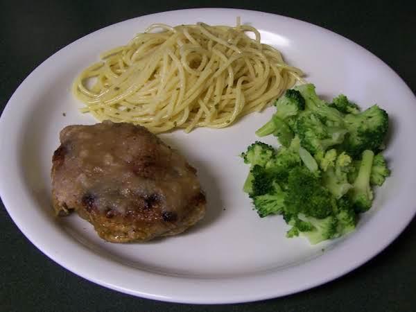 Pork Chops And Applesauce