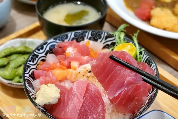 胖姆丼丼 | 北平路好吃日式料理丼飯請來一碗!湯和麥茶‵無限續,附近還有收費停車場真方便
