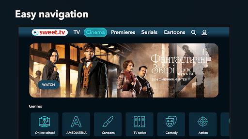 SWEET.TV - TV online for TV and TV-boxes 2.2.4 screenshots 5
