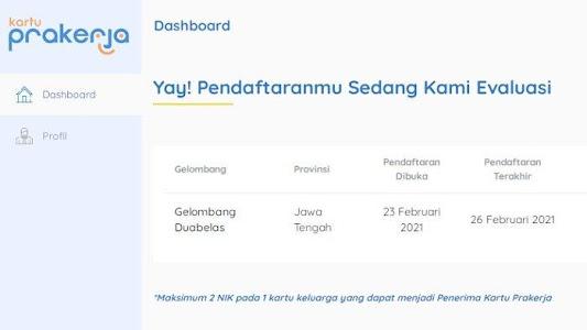 CARA CEK Lolos atau Tidak Kartu Prakerja Gelombang 12, Login www.prakerja.go.id atau Lewat SMS - Tribunnews.com