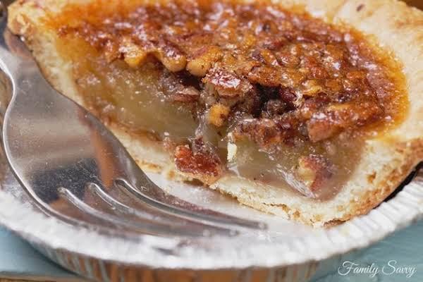 Slice Of Granny's Pecan Pie Tart