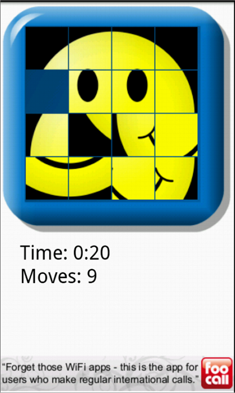 15 Sliding Tile Puzzle- screenshot