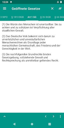 Lawdroid – Deutsche Gesetze und EU-Recht screenshot 3
