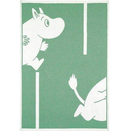 Ekelund Barnfilt Moomin Goes Green