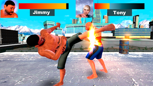 Kung Fu Extreme Fighting - Kick Boxing Deadly Game 1.0 screenshots 4