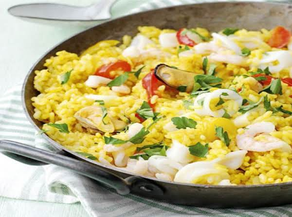 Grand Central Oyster Bar Brooklyn's Seafood Paella Recipe