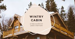 Wintry Cabin - Facebook Event Cover item