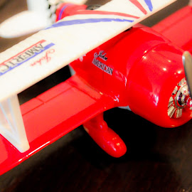 Toy Plane by Ebtesam Elias - Novices Only Objects & Still Life