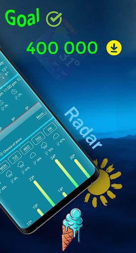 weather and radar live forecast screenshot 2