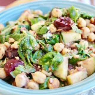 Cherry Balsamic Chickpea Salad.