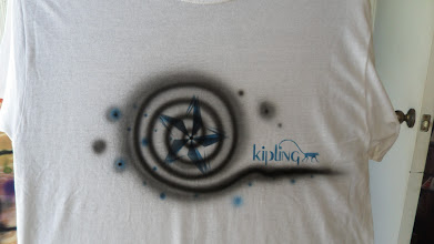 Photo: Airbrushed T-Shirts with your logo or chosen design, perfect for Bar Mitzvahs & Bat Mitzvahs
