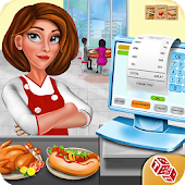 High School Cafe Cashier Girl - Kids Game