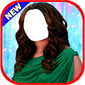 Women Hairstyle Suit New icon