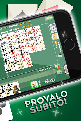 Burraco e Pinelle Online apkpoly screenshots 2