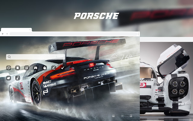 Porsche Super Car HD Wallpapers New Tab Theme