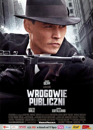 Przód ulotki filmu 'Wrogowie Publiczni'