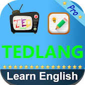 TEDlang - Learn English Videos for TED Talks Pro