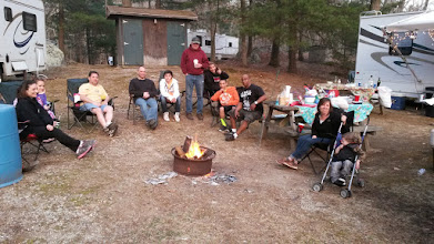 Photo: Campfire with friends