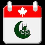 Canada Hijri Calendar Icon
