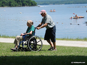 Photo: Age doesn't matter, love does at Burton Island State Park by Sara Hayes
