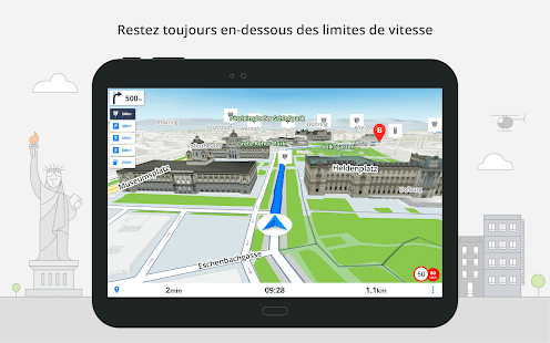 Sygic GPS Navigation & Maps Capture d'écran