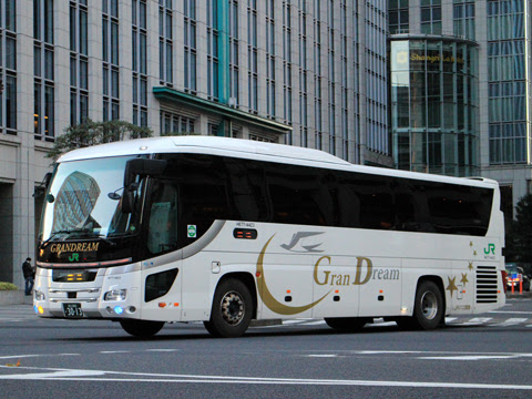 JRバス関東「グランドリーム号」「グラン昼特急号」 H677-14423 東京駅日本橋口にて