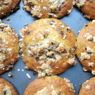 Chocolate Chunk Muffins with Cocoa Nib Streusel Recipe